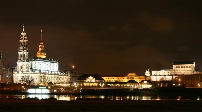 Siluette von Dresden