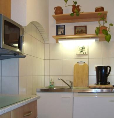 Ferienapartment im Bauernhaus - Miniküche