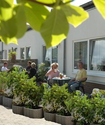 Gästeterrasse Ferien- & Privatzimmer Mrosk in Dresden