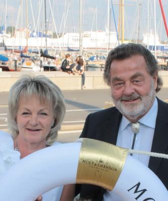 Ihre Gastgeber Ilka und Hans-Jürgen Mrosk